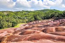 Chamarel's Seven Coloured Earth Geopark, Chamarel, Mauritius