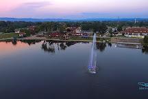 Silver Lake (Srebrno jezero), Veliko Gradiste, Serbia