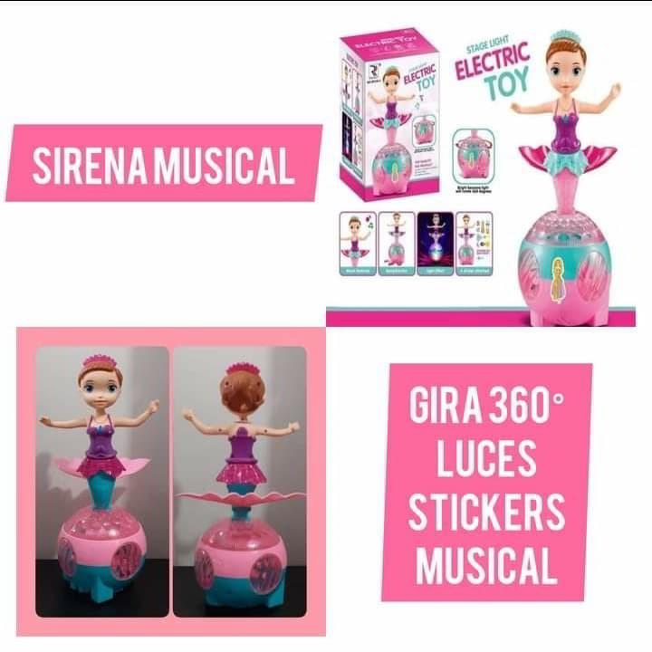 Muñeca Sirena Musical
