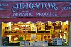 Alligator Organic veg shop york