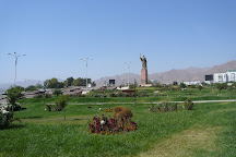 Somoni park, Khujand, Tajikistan