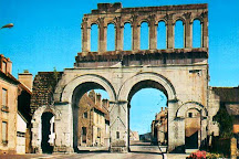 Porte Saint-Andre, Autun, France