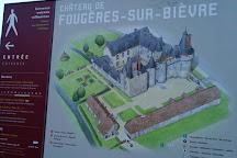 Zámok Fougères-sur-Bièvre, Fougeres-sur-Bievre, France