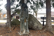 Statue of Kekec, Kranjska Gora, Slovenia