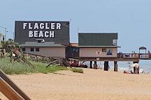 Flagler Beach Municipal Pier, Flagler Beach, United States