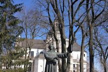 Symon Budny Monument, Nesvizh, Belarus