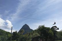 Morne Coubaril HIstorical Adventure Park, Soufriere, St. Lucia