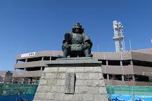 Takeda Shingen Statue, Kofu, Japan