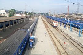 Железнодорожная станция  Dnepropetrovsk Glavnij