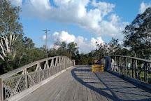 La Trobe Swing Bridge, Sale, Australia
