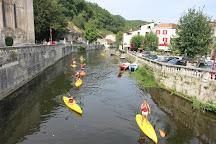 Brantome Canoe, Brantome en Perigord City, France