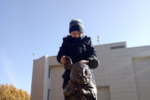 Monument of Laboratory Mice, Novosibirsk, Russia