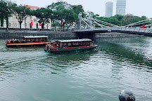 Cavenagh Bridge, Singapore, Singapore