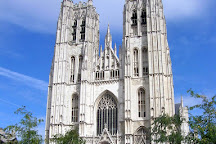 St. Michael and St. Gudula Cathedral (Cathedrale St-Michel et Ste-Gudule), Brussels, Belgium