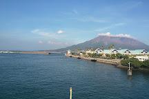 Kinko Bay, Kagoshima, Japan