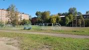 Школа № 77, улица Лермонтова на фото Иркутска