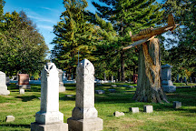 Evergreen Memorial Cemetery, Bloomington, United States