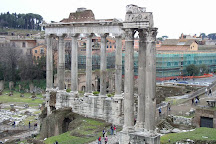 Temple of Vespasian and Titus, Rome, Italy