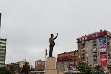 Bill Clinton Statue, Pristina, Kosovo