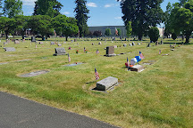Zion Memorial Park Cemetery, Canby, United States