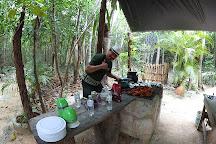 Cenote Santa Cruz, Akumal, Mexico