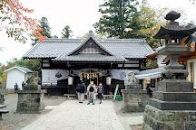 Ruins of Toishi Castle, Ueda, Japan