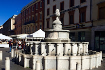 Fontana della Pigna, Rimini, Italy