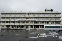 Ruins of the Great East Japan Earthquake Sedai Arahama Elementary School, Sendai, Japan