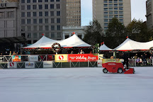 Holiday Ice Rink In Union Square, San Francisco, United States