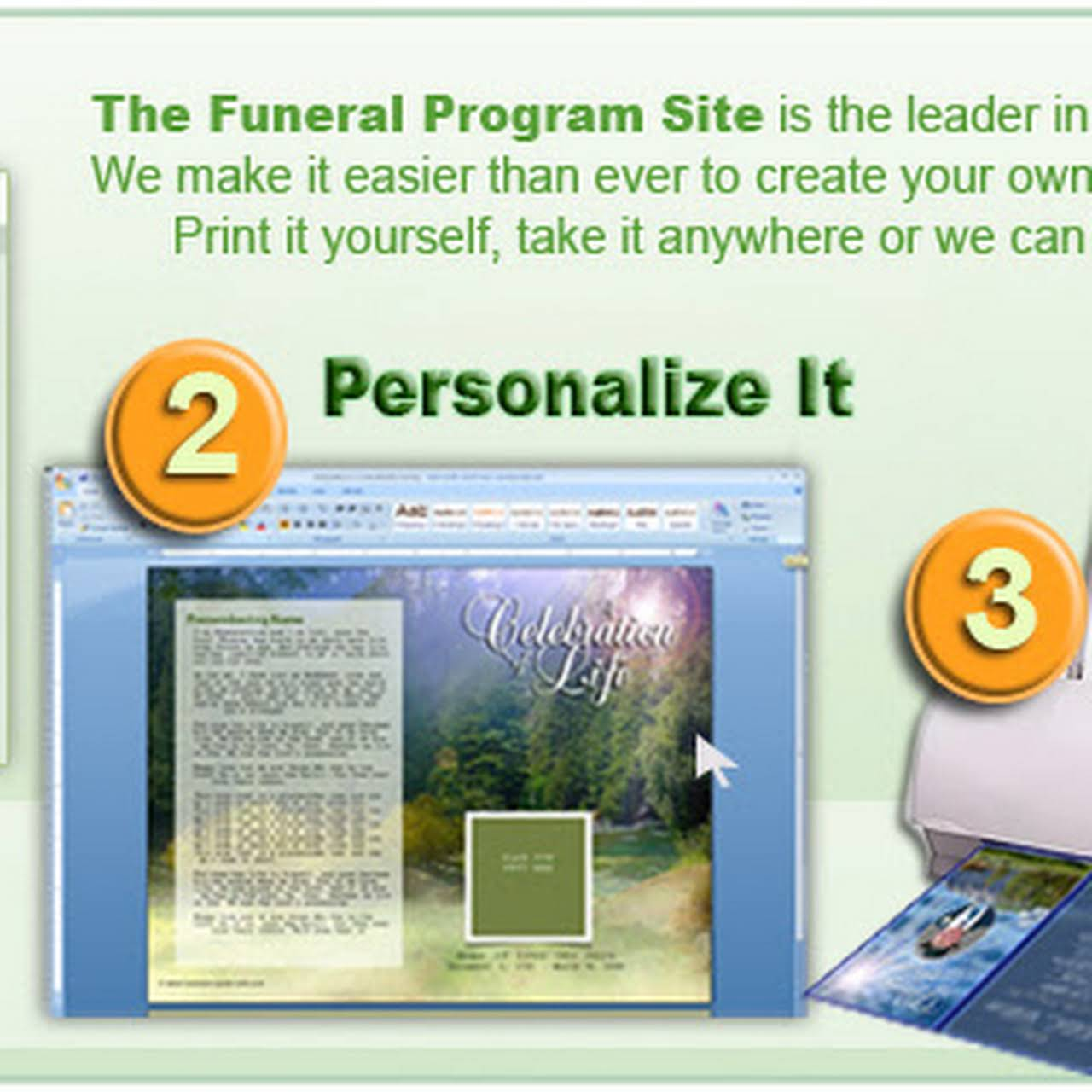 The Funeral Program Site Launch Christmas Holiday Sympathy Gifts ...
