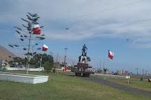 Monumento Al Pampino Salitrero, Iquique, Chile