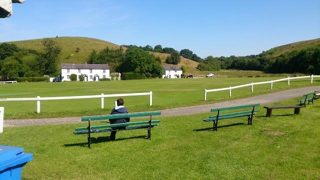 White Coppice cricket pitch