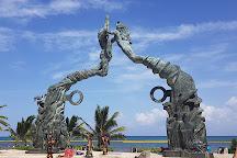 Parque Los Fundadores, Playa del Carmen, Mexico