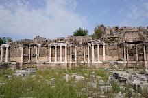 Monumental Fountain (Nymphaeum), Side, Turkey