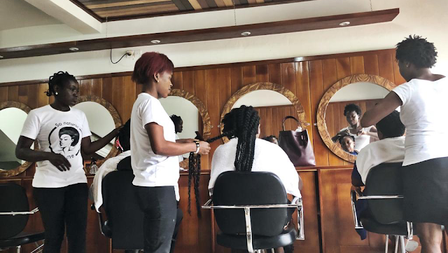 MY PLACE Natural Hair Saloon