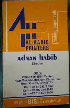 Al SUBHAN BUSINESS AND GRAPHICS quetta