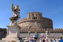 St. Angelo Bridge, Rome, Italy