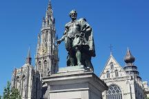 Peter Paul Rubens Statue, Antwerp, Belgium