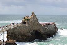 Rocher de la Vierge, Biarritz, France