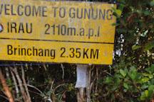 Gunung Irau (Mount Irau), Brinchang, Malaysia