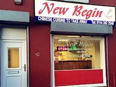 New Begin chinese takeaway sheffield UK
