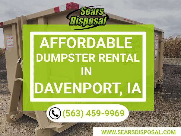 Dumpster Rental Davenport IA