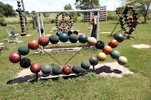 Bowling Ball Yard Art, Nowata, United States
