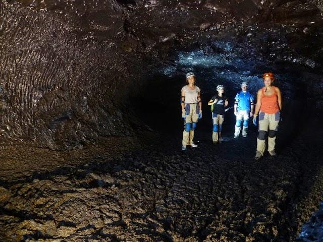 Tunnel de lave à La Réunion - Envergure Reunion