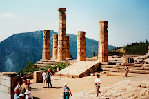 Temple of Apollo In Delphi, Delphi, Greece
