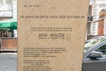 Denkmal Aron Menczer, Vienna, Austria