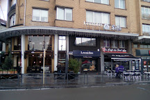 Place Eugene Flagey, Brussels, Belgium