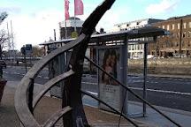 Viking Longboat Sculpture, Dublin, Ireland