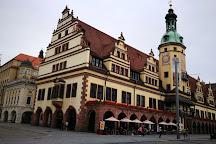 Market Square (Markt), Leipzig, Germany