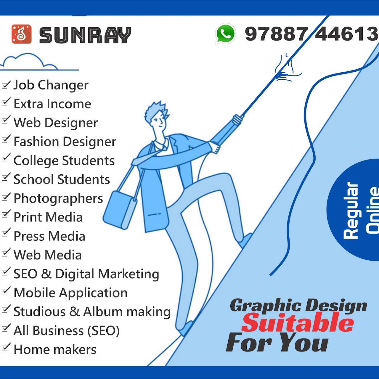 Sunray Graphic Online Design Training Placement Photoshop Coreldraw Training In Coimbatore Graphic Designer In Coimbatore